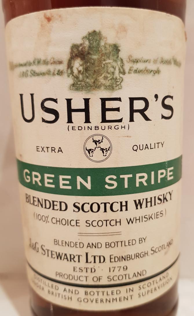 Usher's Green Stripe