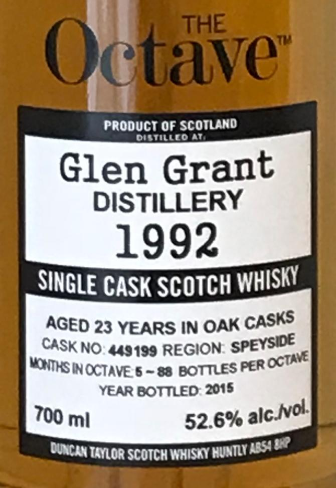 Glen Grant 1992 DT