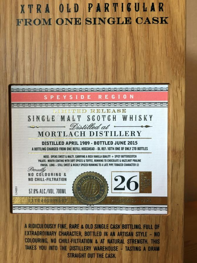 Mortlach 1989 DL