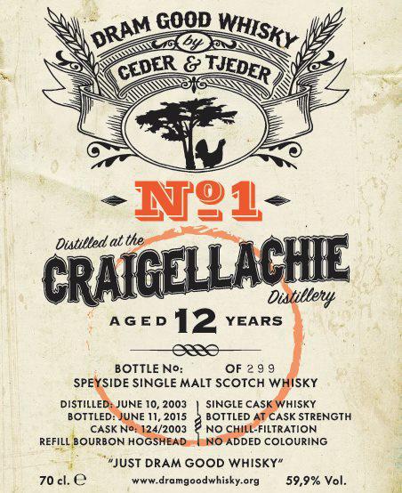 Craigellachie 2003 C&T