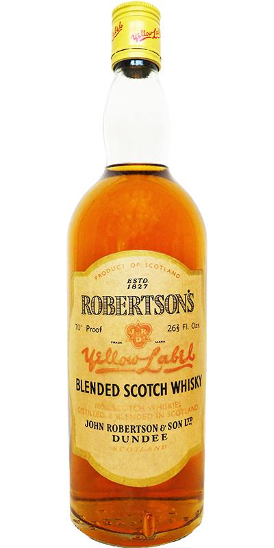 Robertson's 08-year-old