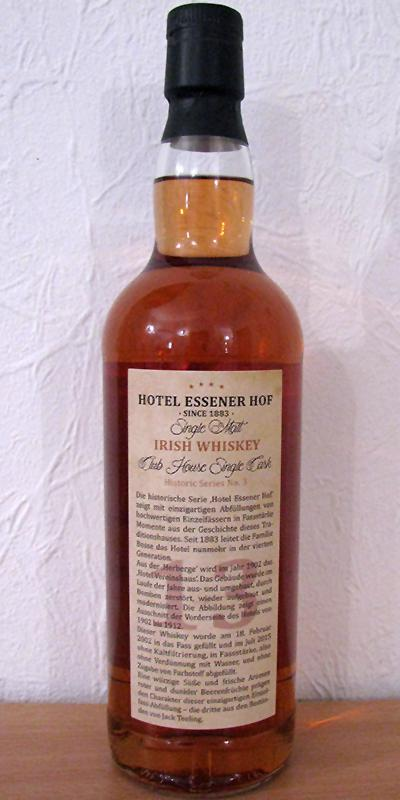 Single Malt Irish Whiskey 2002 RK