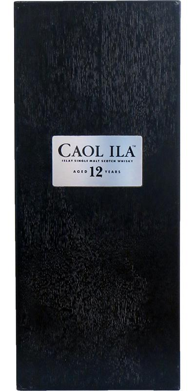 Caol Ila 12-year-old - Black Pine Wooden Box