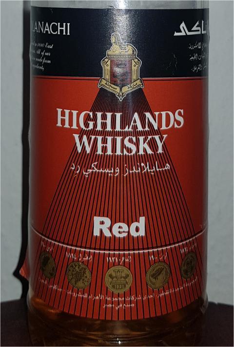 Highlands Whisky Red