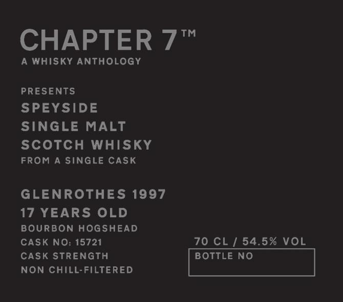 Glenrothes 1997 Ch7