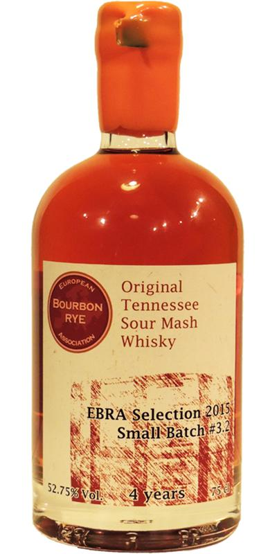 Original Tennessee Sour Mash Whisky 2010 EBRA