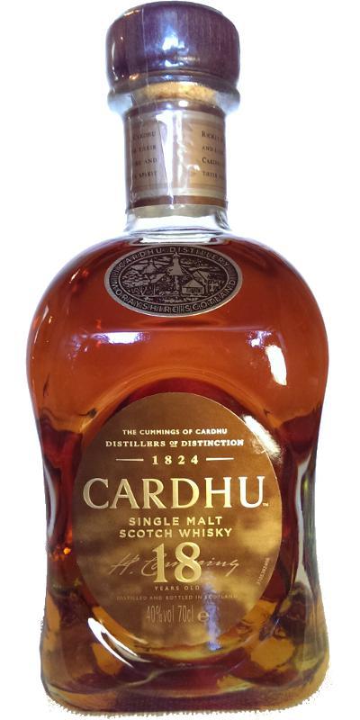 Cardhu 18-year-old