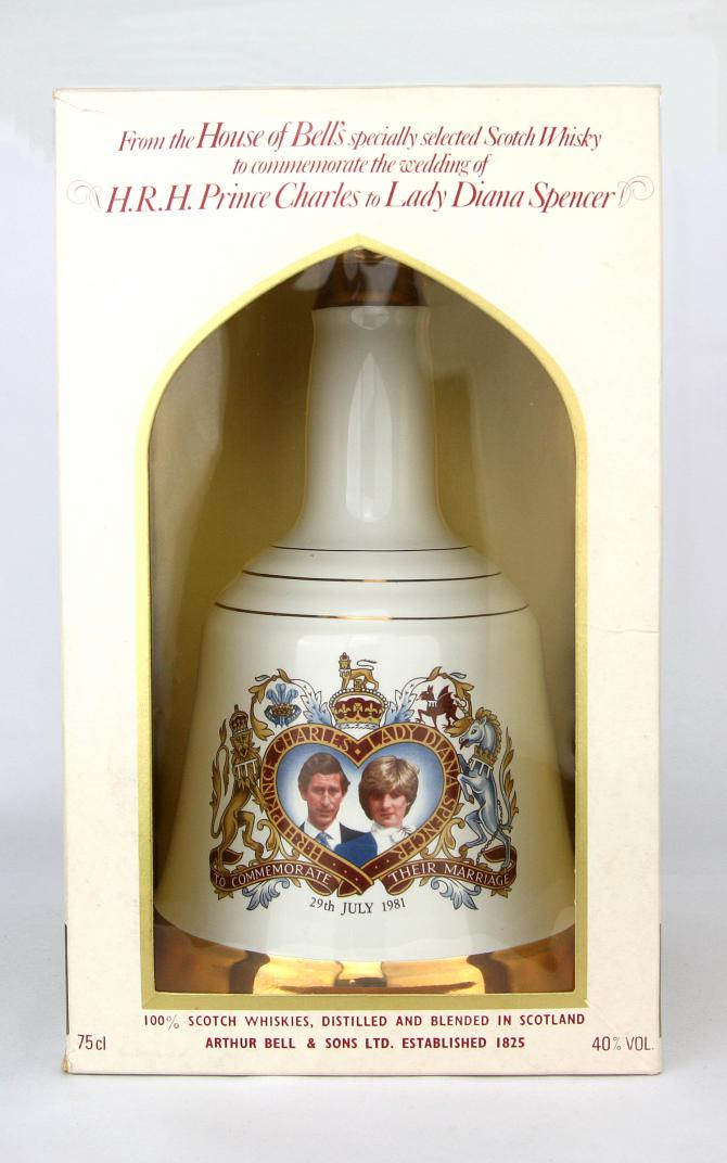 Bell's To Commemorate their Marriage HRH Prince Charles & Lady Diana Spencer