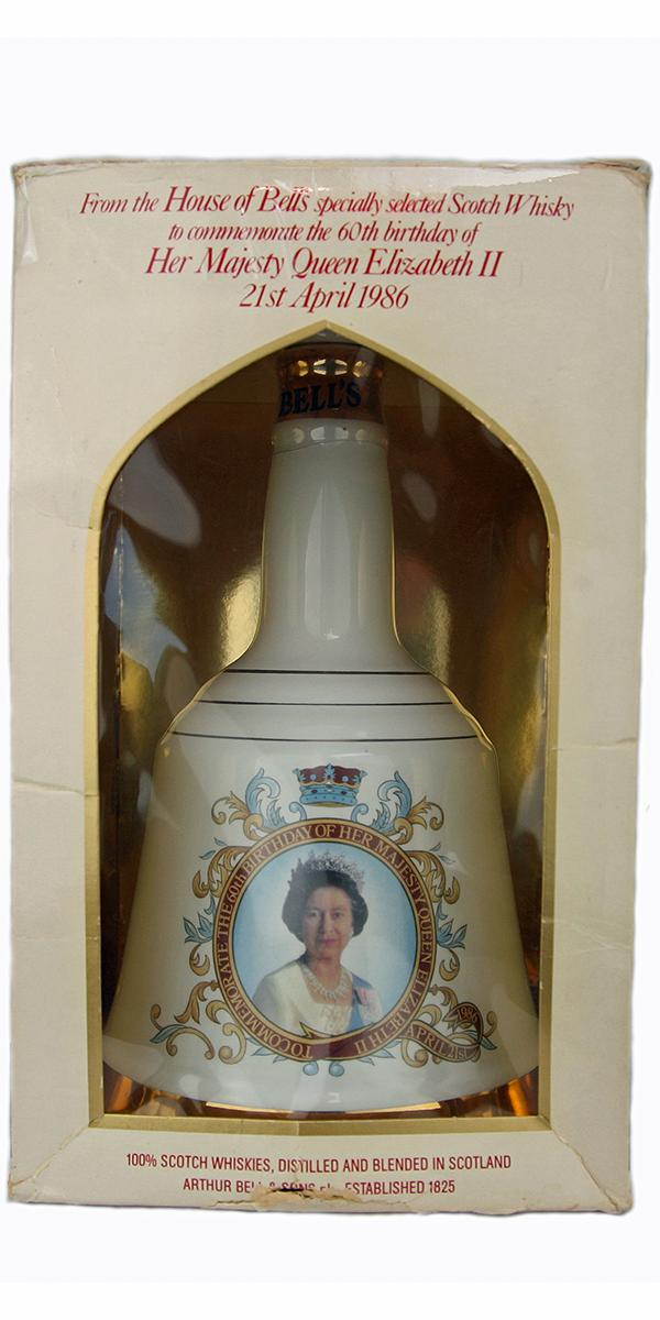 Bell's To Commemorate the 60th Birthday of Her Majesty Queen Elizabeth