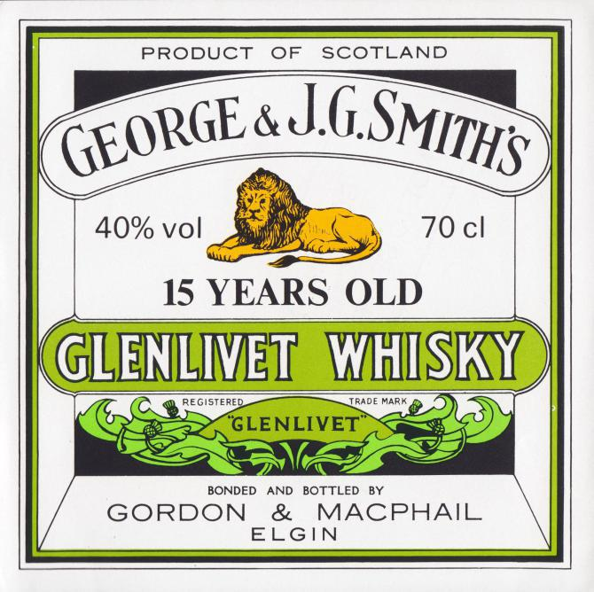 Glenlivet 15-year-old GM