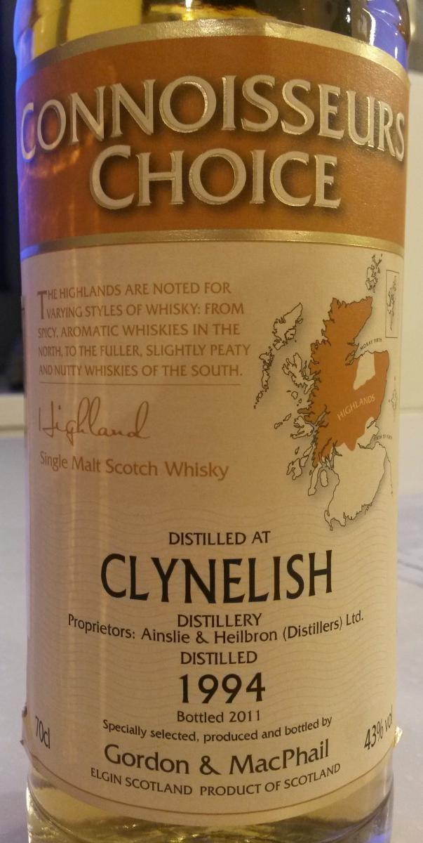 Clynelish 1994 GM