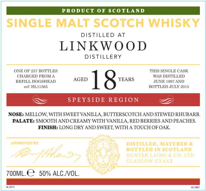 Linkwood 1997 HL