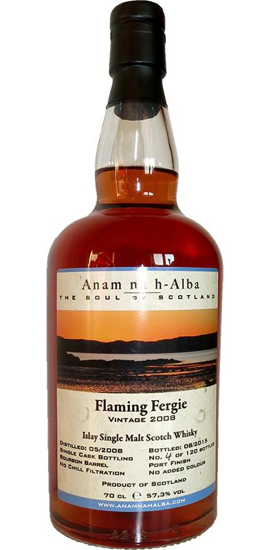 Flaming Fergie 2008 ANHA