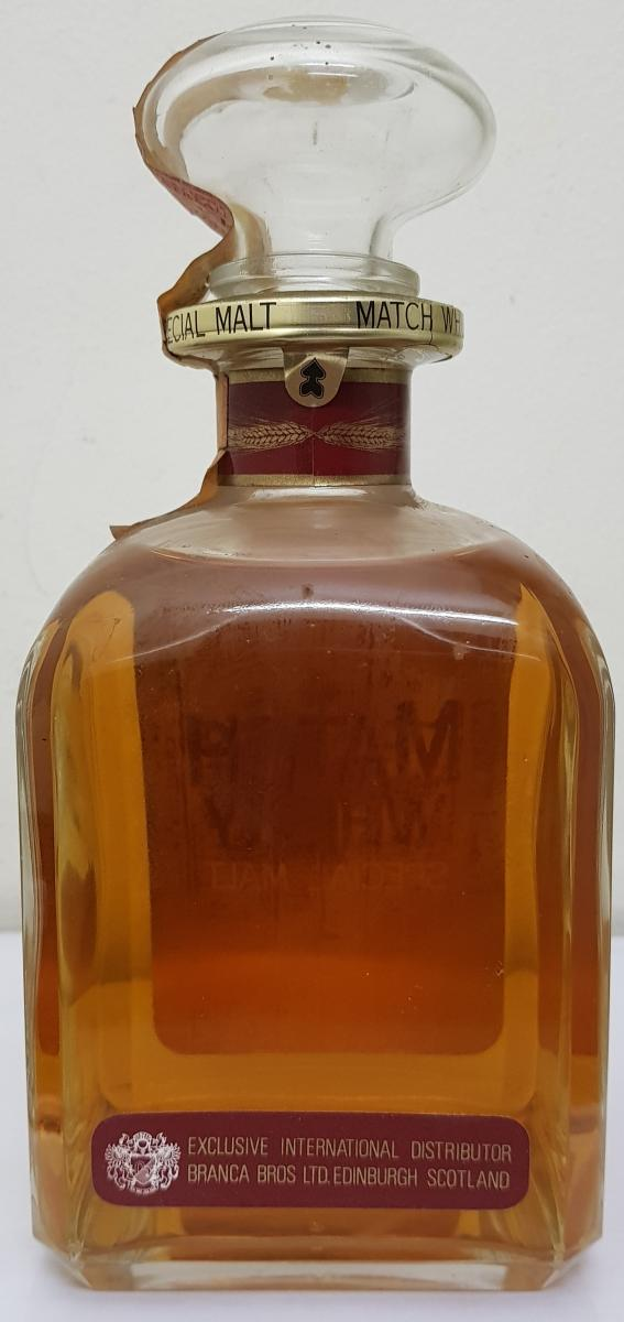 Match Whisky 08-year-old BBBl