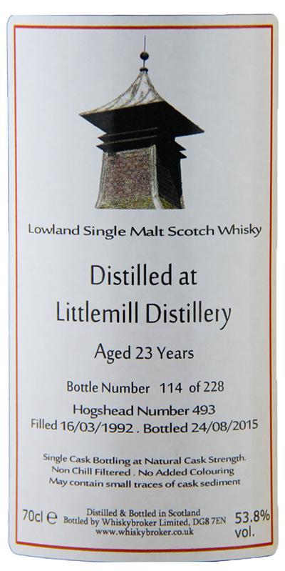 Littlemill 1992 WhB