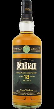 BenRiach 18-year-old - Latada