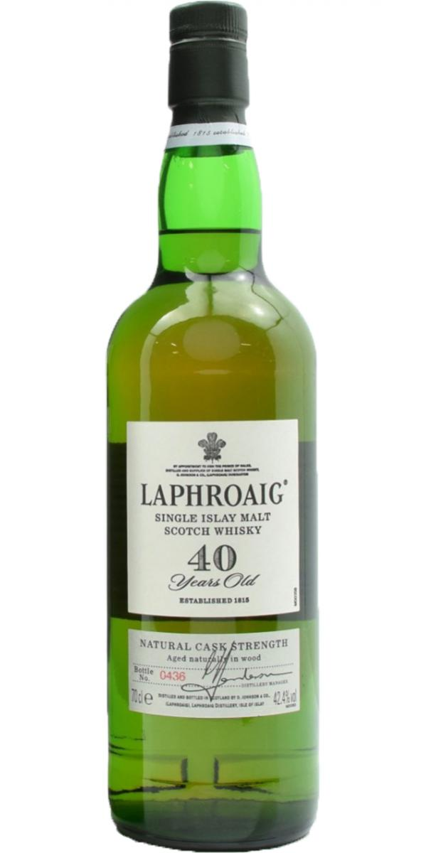 Laphroaig 40-year-old