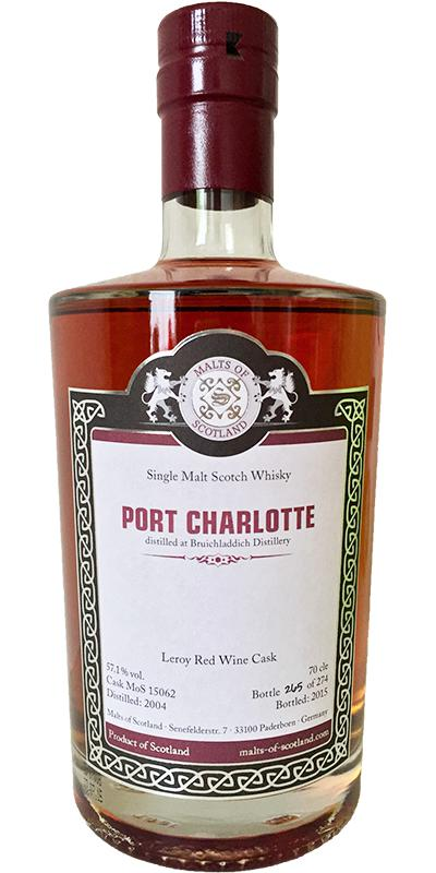 Port Charlotte 2004 MoS