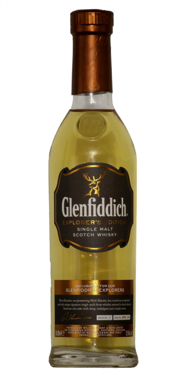 Glenfiddich Explorer's Edition