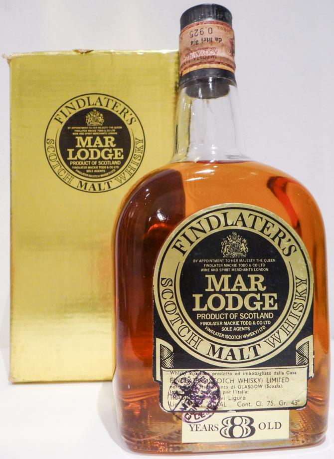 Findlater's 08-year-old - Mar Lodge