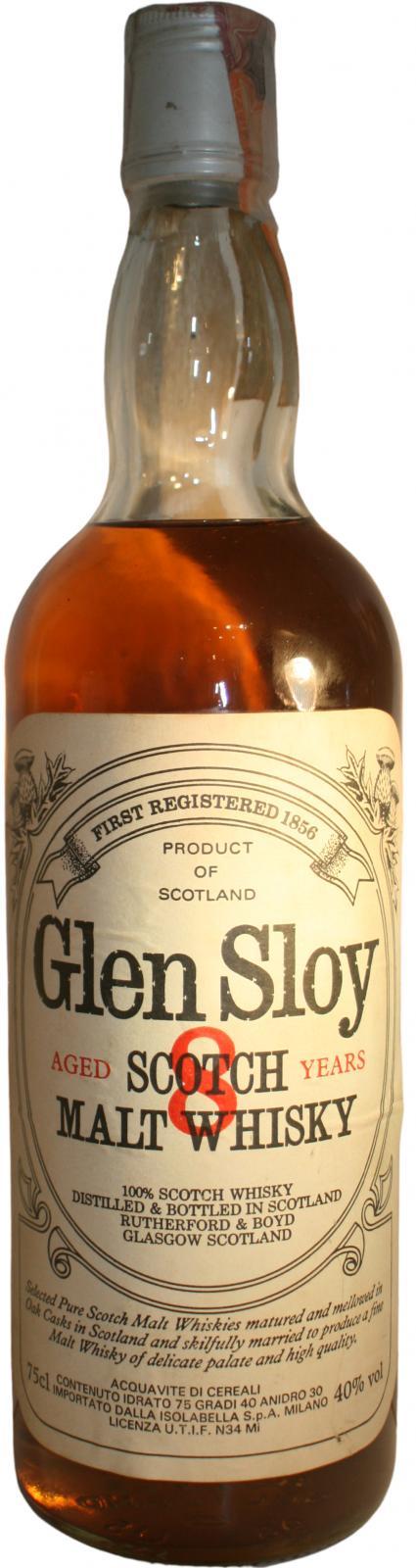 Glen Sloy 08-year-old Rf&B