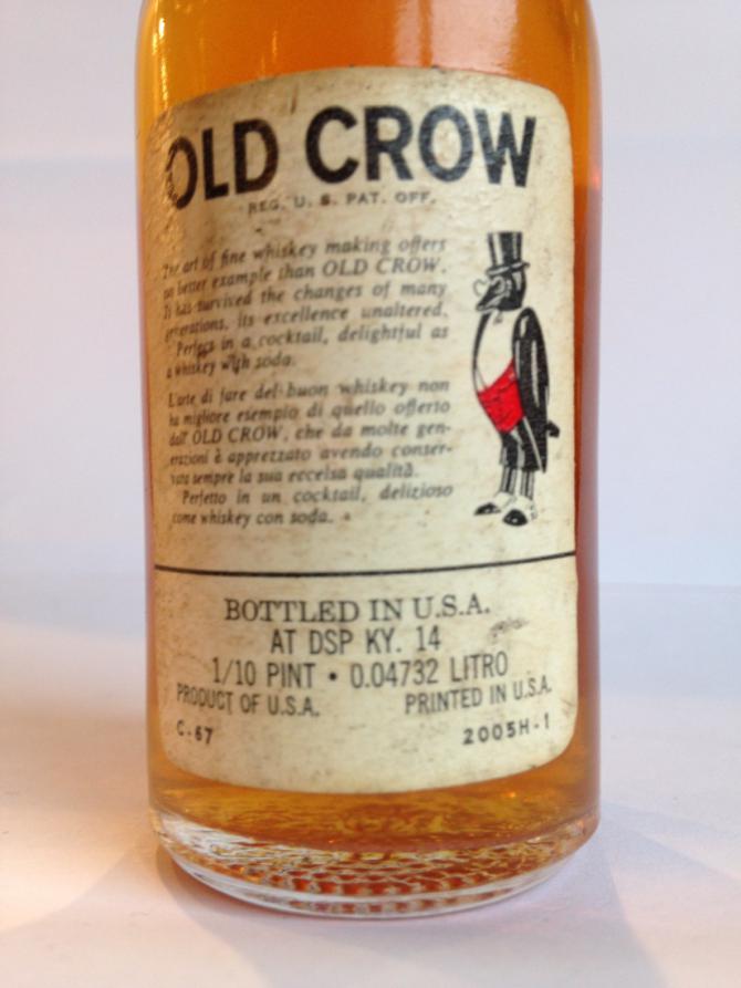Old Crow Kentucky Straight Bourbon Whiskey