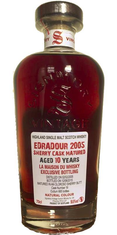 Edradour 2005 SV