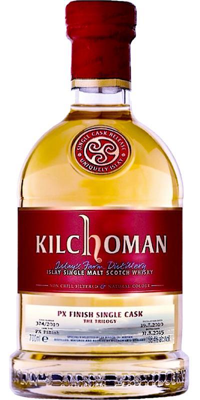 Kilchoman 2010 - The Trilogy