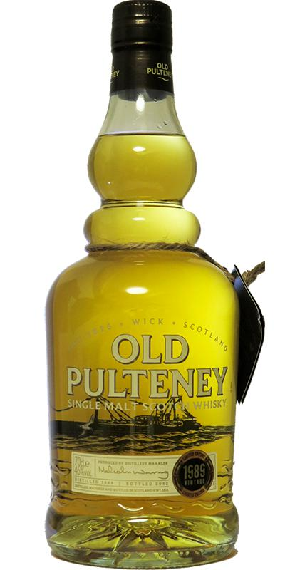 Old Pulteney 1989