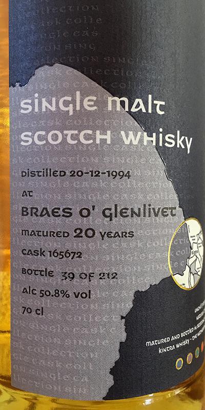 Braes of Glenlivet 1994 KiW