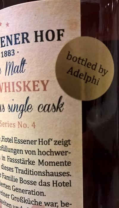 Single Malt Irish Whiskey 1991 RK