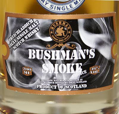 Bruichladdich Bushman`s Smoke Choice