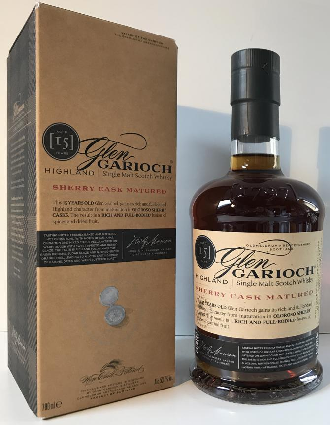 Glen Garioch 15-year-old