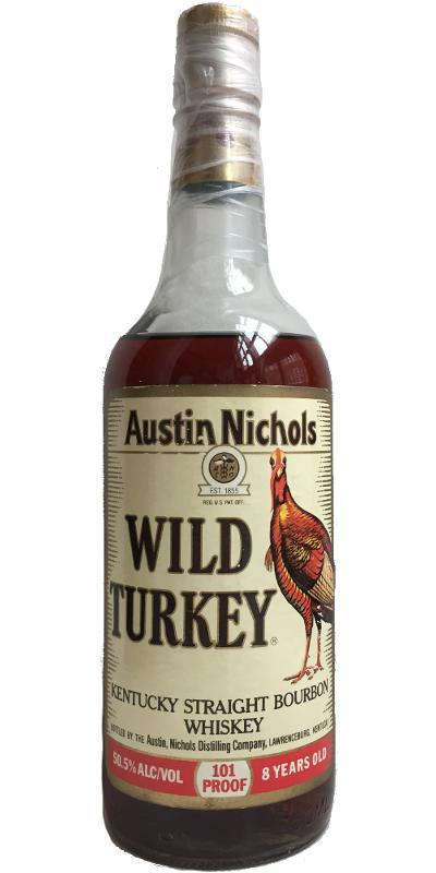 Wild Turkey 08-year-old