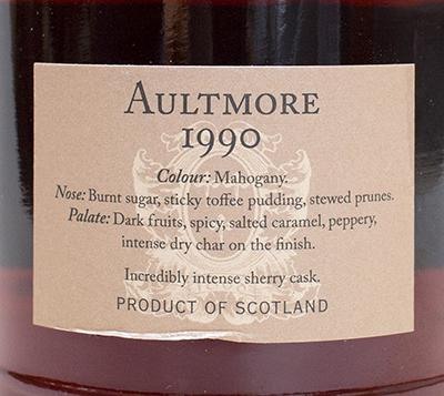 Aultmore 1990 DR