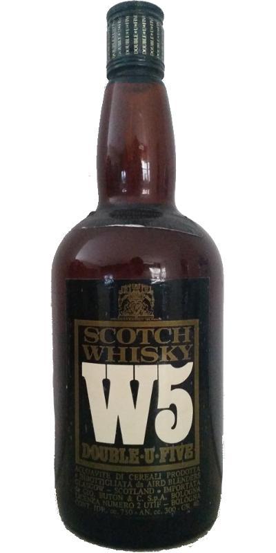 W5 - Double-U-Five Scotch Whisky