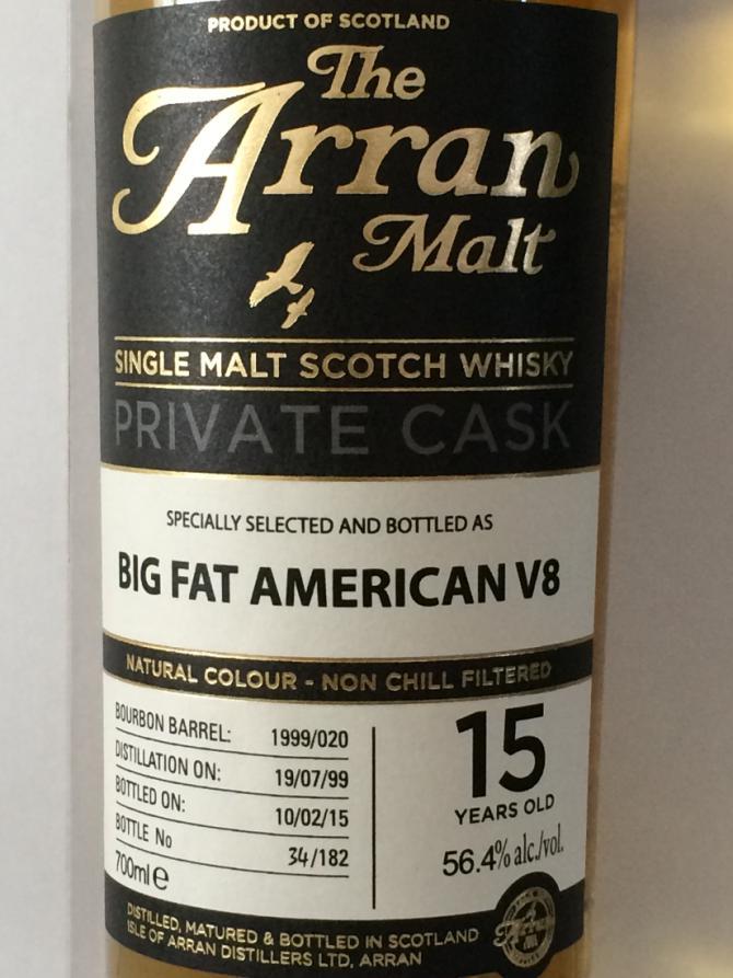 Arran 1999 - Big Fat American V8