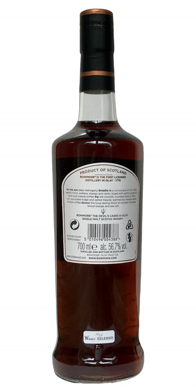 Bowmore The Devil's Casks - Limited Release III