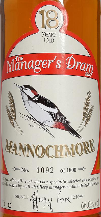 Mannochmore 18-year-old