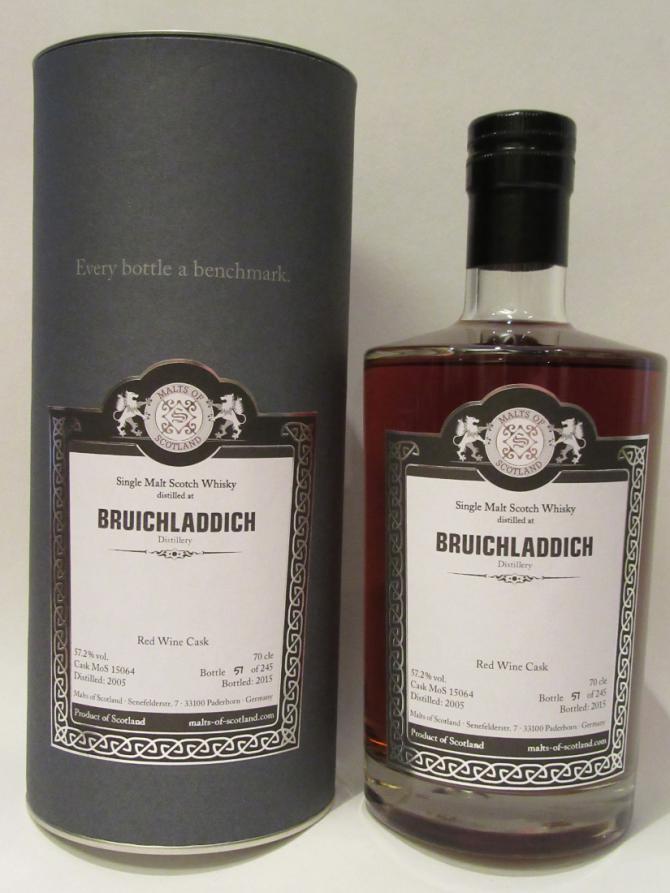 Bruichladdich 2005 MoS