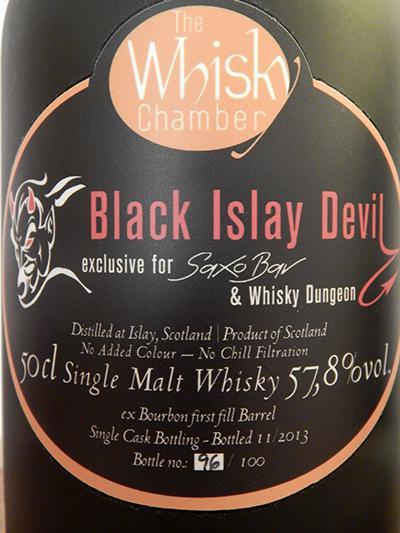 Black Islay Devil No. 1 WCh