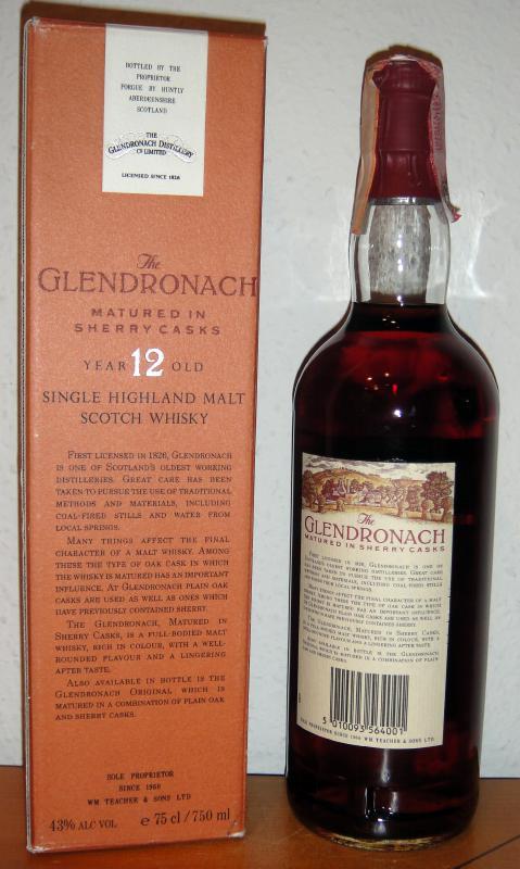 Glendronach 12-year-old Sherry