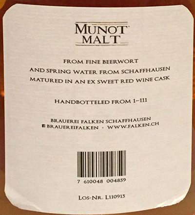 Brauerei Falken Munot Malt