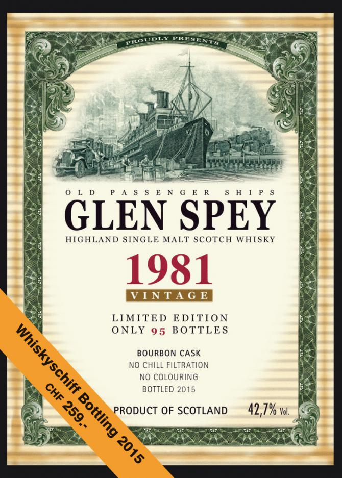 glen spey singles over 50 The maltman – glen spey 23 a recent expression released by the maltman comes from the glen spey distillery the spirit for this whisky was distilled in september 1993, then left to work its magic together with bourbon cask #.