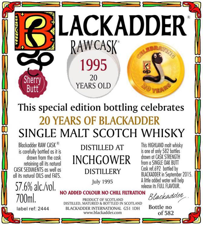 Inchgower 1995 BA