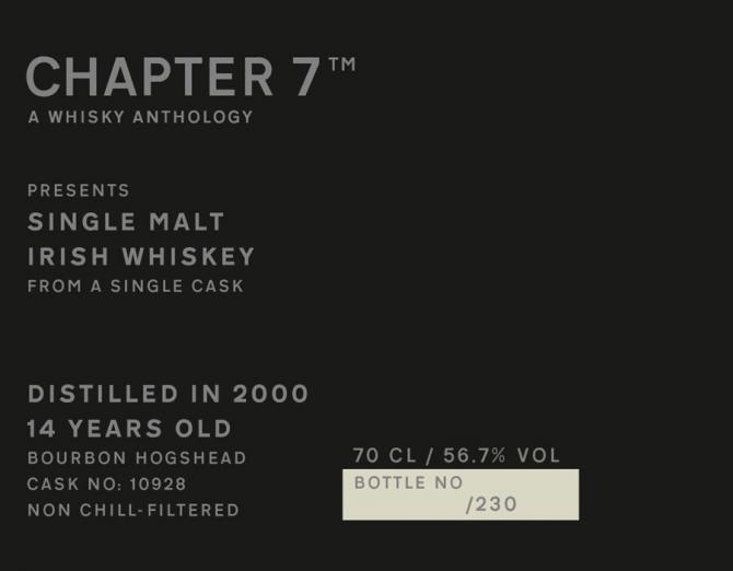 Irish Whiskey 2000 Ch7