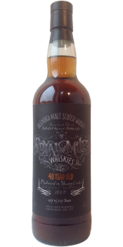Blended Malt Scotch Whisky 40-year-old RM