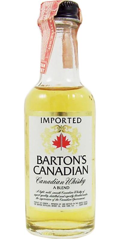 Barton's Canadian Canadian Whisky