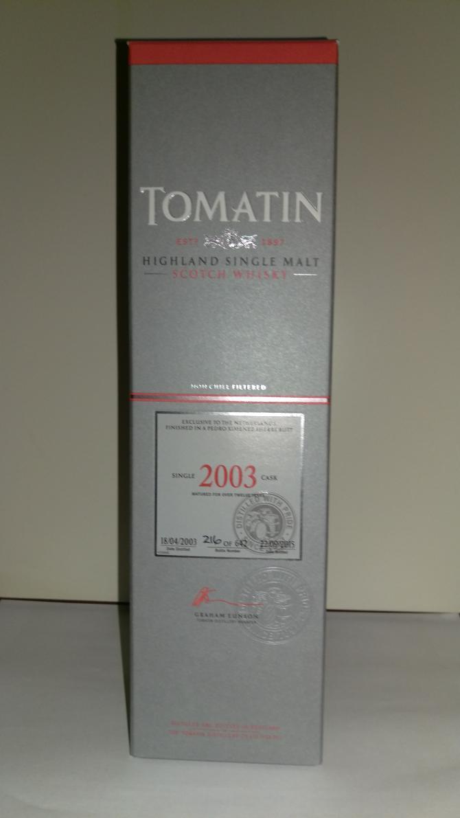 Tomatin 2003