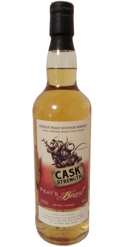 Peat's Beast Cask Strength FF